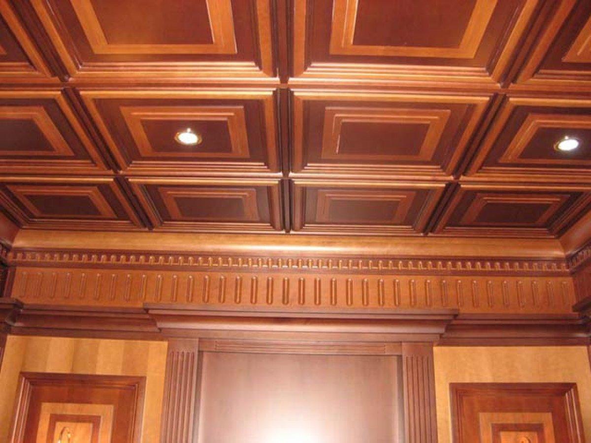 Потолок своими руками из мдф